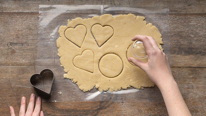 Passo 4 - biscoitos de amêndoas
