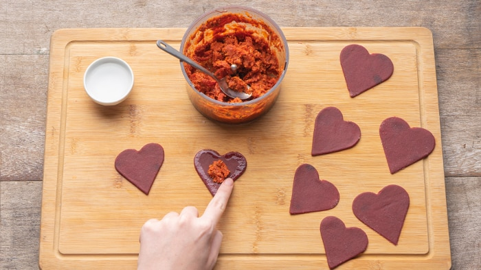 Passo 4 - ravioli de tomate seco