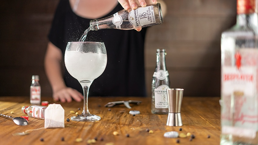 Passo 5 - gin tônica
