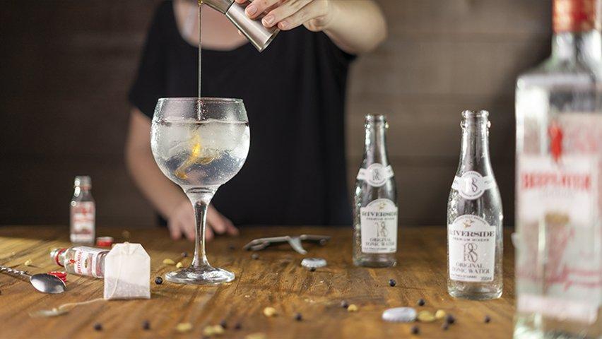 Passo 6 - gin tônica