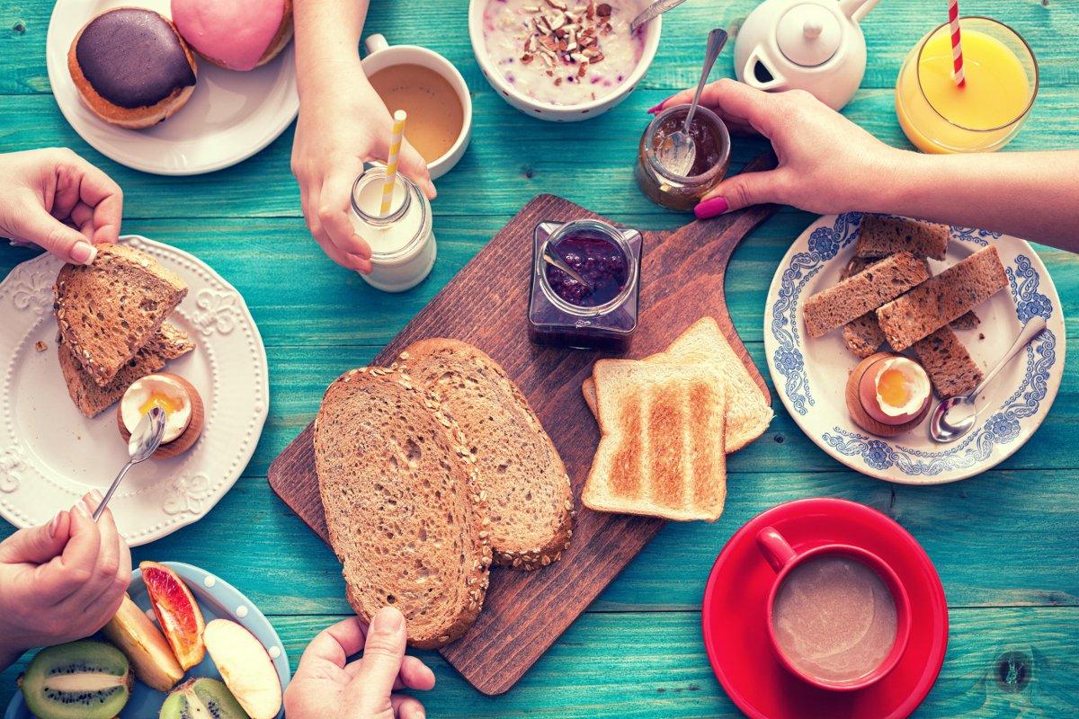 café da manhã - capa