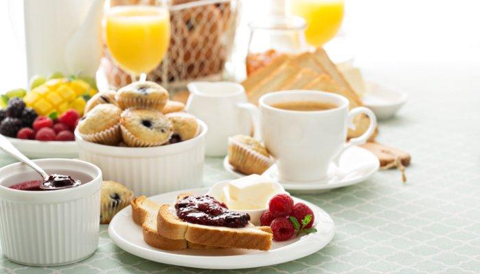 café da manhã leve
