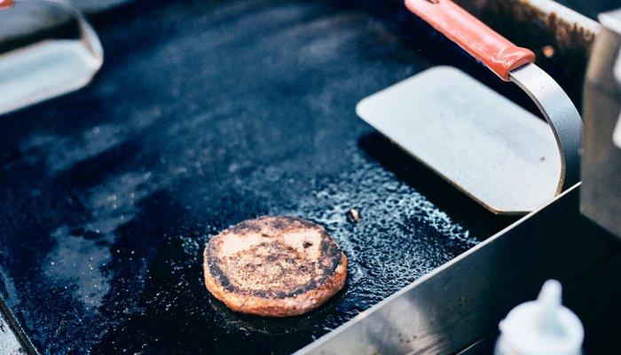 hambúrger vegano - preparo
