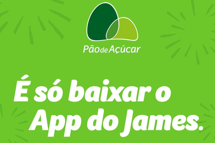 james delivery - texto