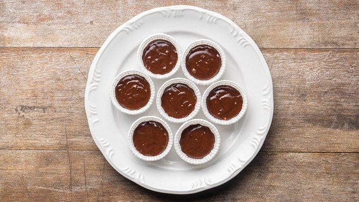 passo 4 - cupcakes de brigadeiro