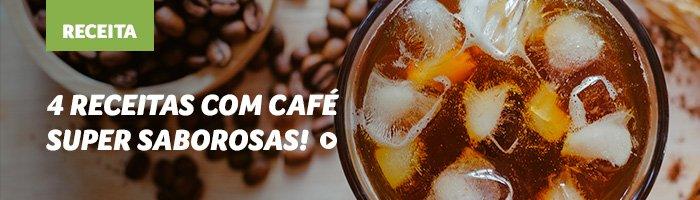 4 receitas com café