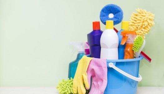 Produtos de limpeza: descubra para que serve cada um