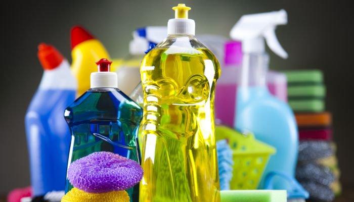 para que servem produtos de limpeza