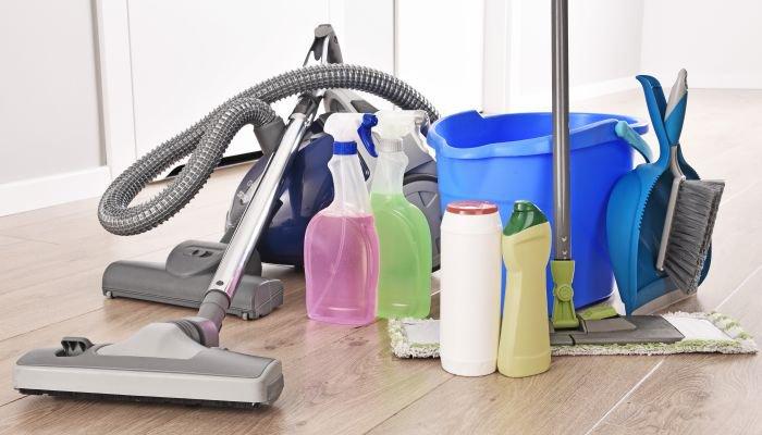 conheça os produtos de limpeza