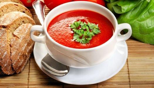 [Receita] Sopa de tomate