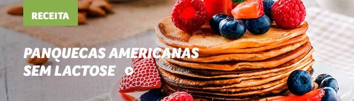 lanches rápidos e saudáveis panqueca americana