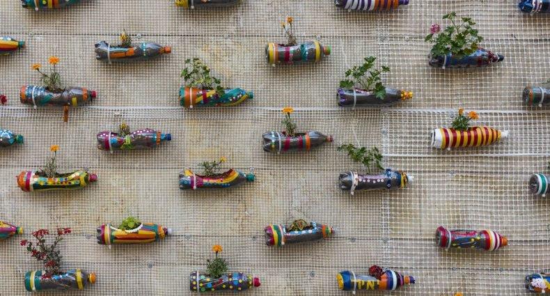 como fazer um jardim vertical com temperos