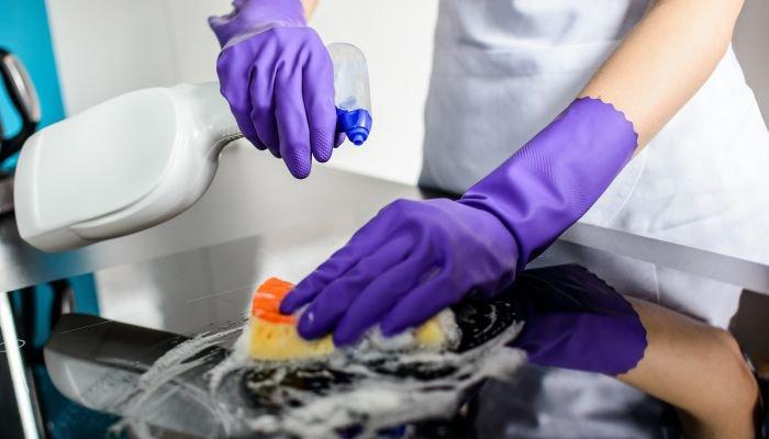 produtos de limpeza fogão