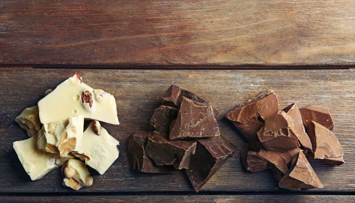 veja os tipos de chocolate