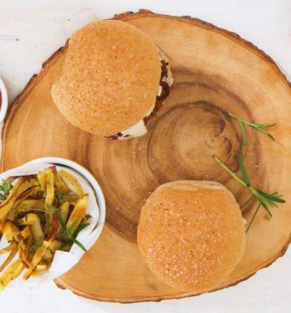aprenda uma receita hambúrguer vegetal