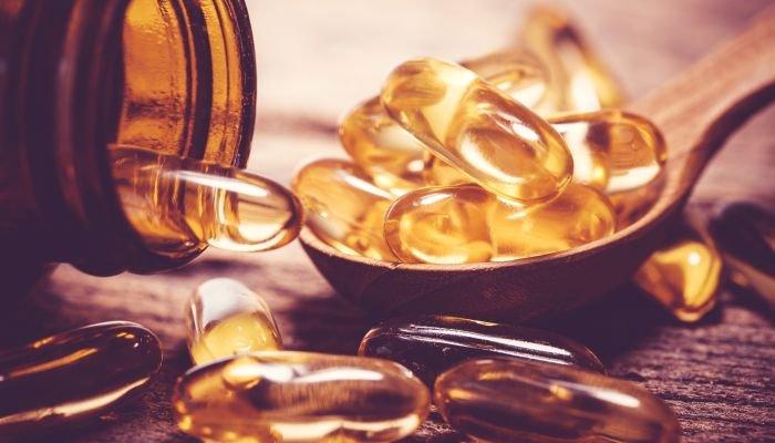 vitamina d - frasco de vitamina