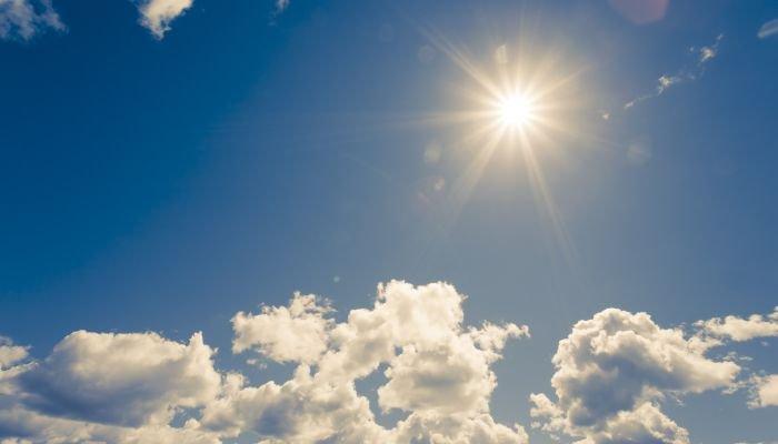 vitamina D - Céu ensolarado