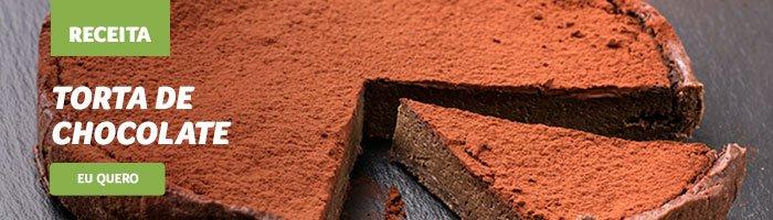 almoço de dia dos pais torta de chocolate