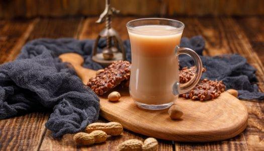 [Receita] Chá de amendoim
