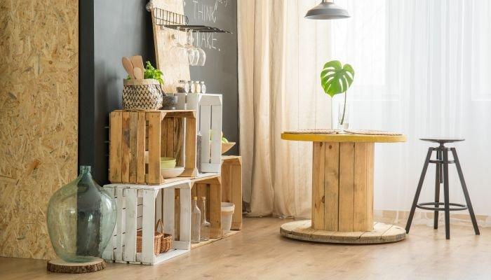 decoração sustentável casa
