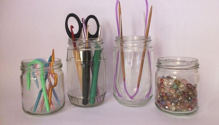 decoração sustentável vidro