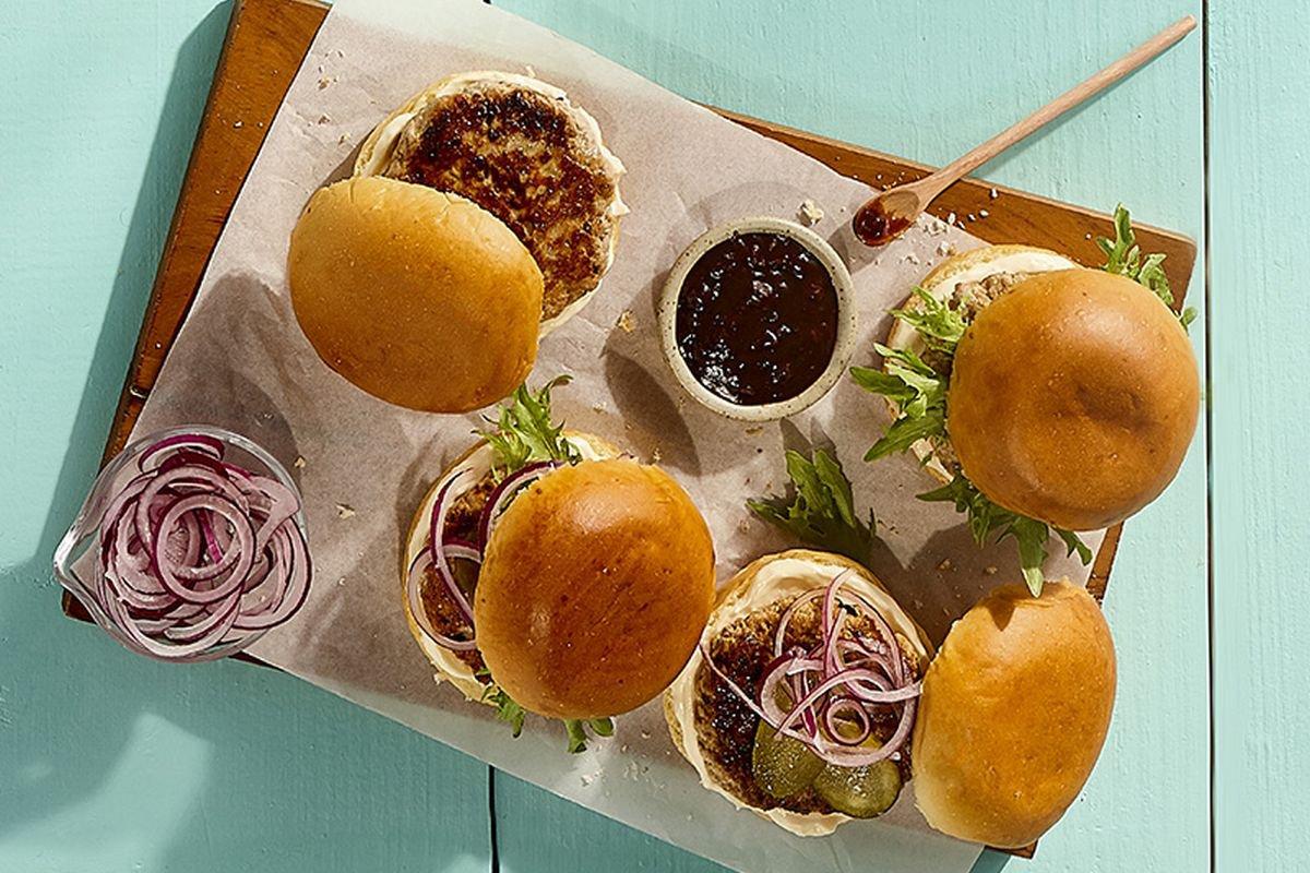 receita de pork hamburguer