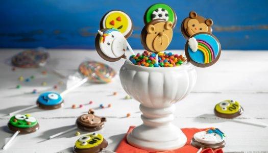 [Receita Cheftime] Kit Pirulitos de Chocolate decorados com Pasta Americana