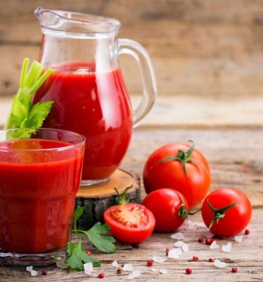 receita de suco de tomate