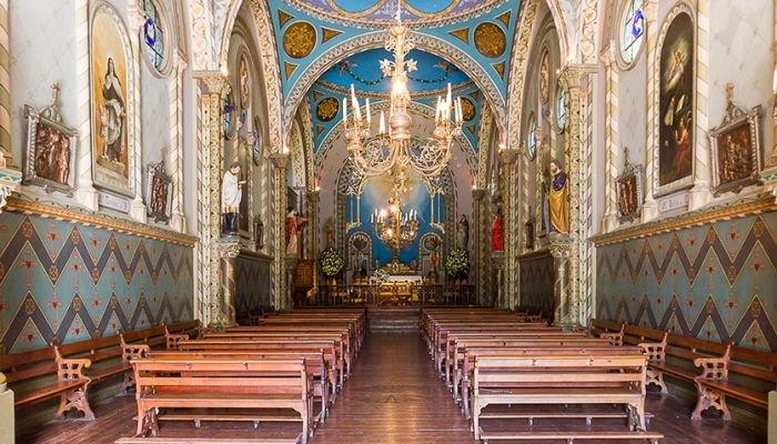 viña santa rita capela