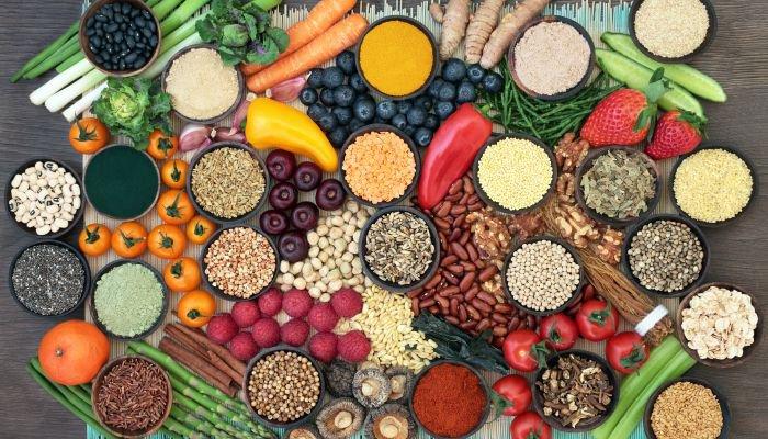 alimentos ricos em fibra e proteína fibra