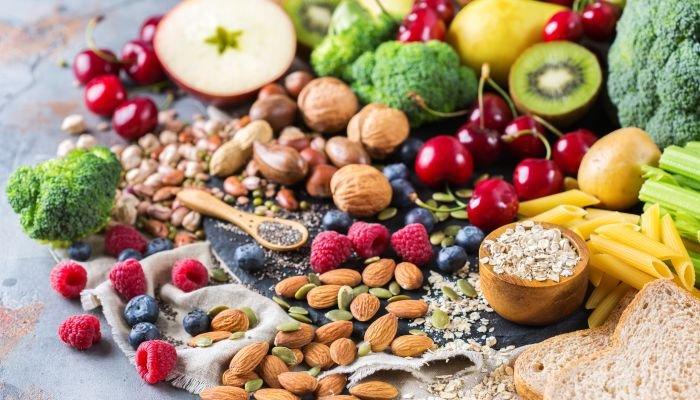 alimentos ricos em fibra e proteína intro