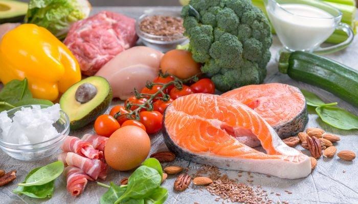 alimentos ricos em fibra e proteína pratos