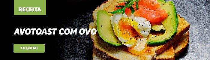 café da manhã saudável e rápido avotoast
