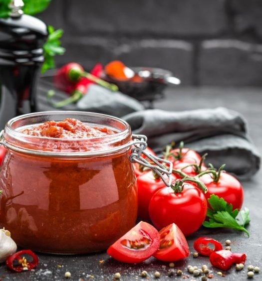 molho de tomate para churrasco