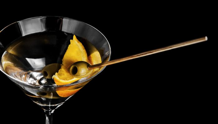 o que é dry martini laranja