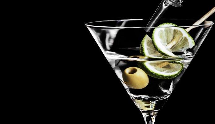 o que é dry martini limão
