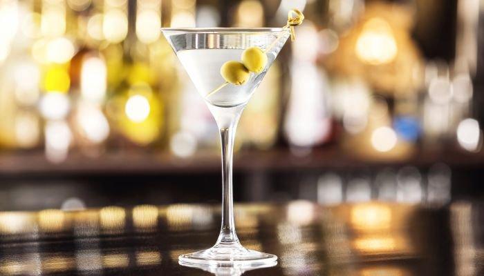 o que é dry martini