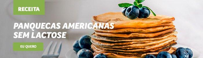 café da manhã saudável e rápido panquecas americanas
