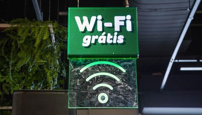 reinauguração de lojas wifi