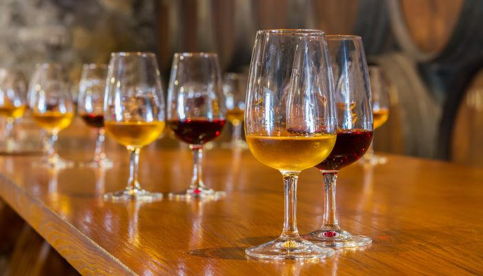 como beber vinho do porto branco e tinto