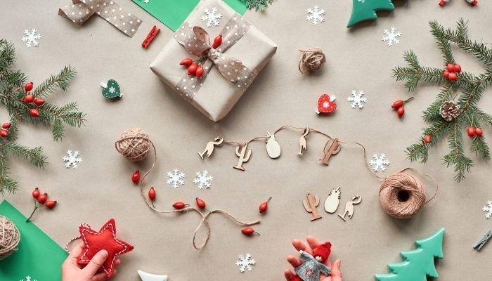 decoração de natal sustentável customizar