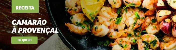 opções de jantar saudável Camarão_à_provençal