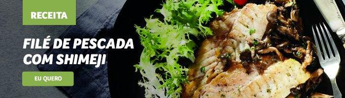 opções de jantar saudável Filé_de_pescada_com_shimeji