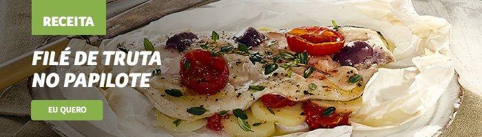 opções de jantar saudável Filé_de_truta_no_papilote