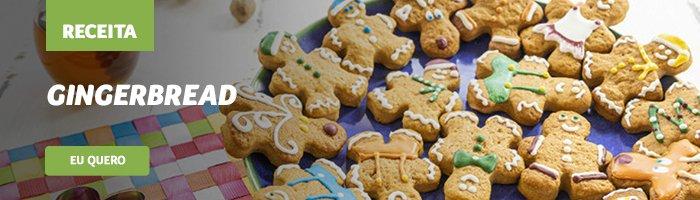 cardápio de natal Gingerbread