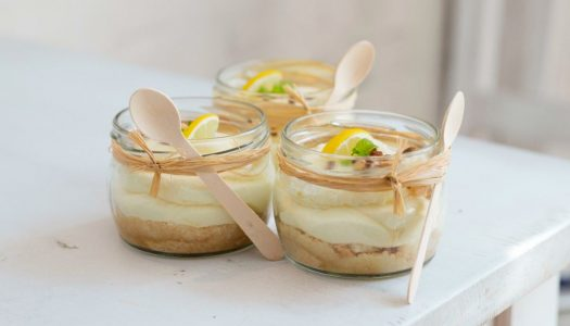 [Receita] Mousse de limão com gelatina