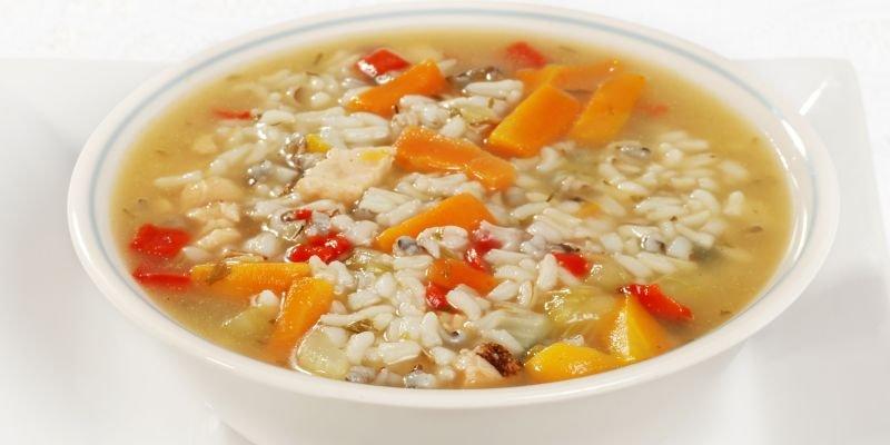canja de arroz