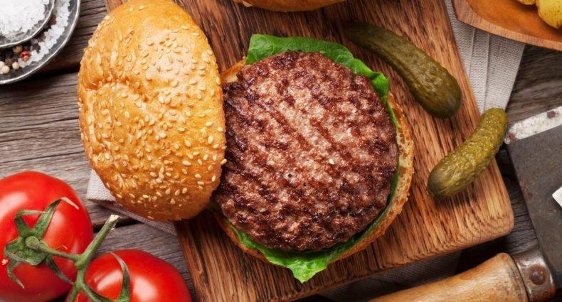 carnes para hambúrguer capa