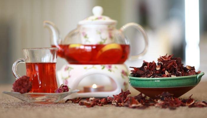 o que é hibisco chá