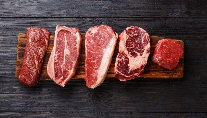 alimentos ricos em zinco carne vermelha